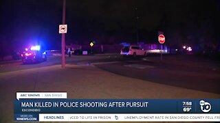 Man Killed in police shooting