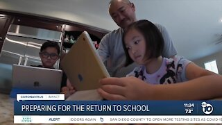 San Diego County schools preparing for return to campuses