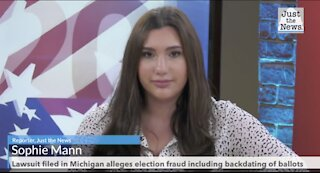 Lawsuit filed in Michigan alleges election fraud including backdating of ballots