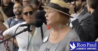 Holocaust Survivor Slams Demonization Of Unvaccinated
