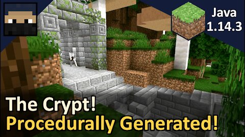The Crypt! Procedurally Generated Dungeon! Minecraft Java 1.14.3
