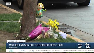 """SDPD calling death of mother and son at Petco Park """"suspicious"""""""