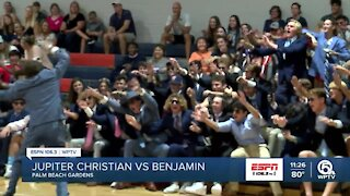 Benjamin volleyball takes home district title