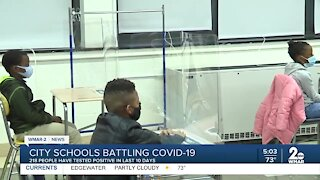 City Teachers union concerned about COVID in city schools