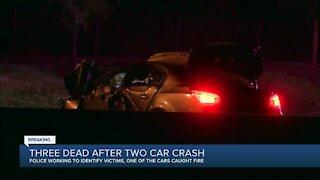 Three people dead after head-on crash on Highway 169