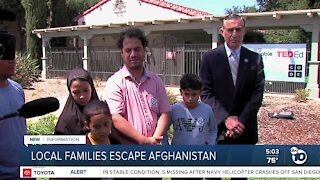 Local family shares experience in Afghanistan