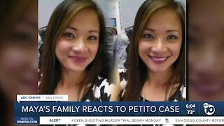 Maya Millete's family reacts to Petito case