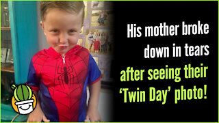 """Mother Broke Down In Tears After Seeing """"Twin Day"""" Photo"""