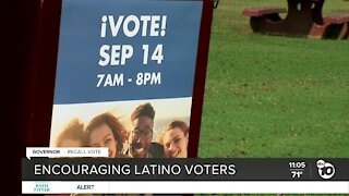 Group encouraging Latino voters to turn out for California's gubernatorial recall election
