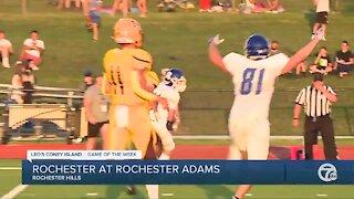 Rochester Adams beats Rochester in WXYZ Game of the Week
