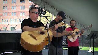 Mexican Independence Day celebration at the Holland Center