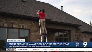 Entrepreneur named Rooke of the Year