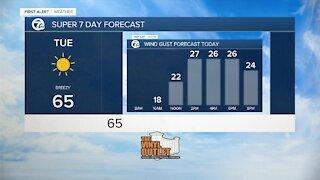 7 First Alert Forecast 5 a.m. Update, Tuesday, October 19