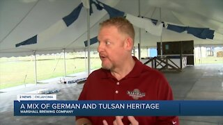 A mix of German and Tulsan heritage with Marshall Brewing Co.