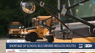 Bus driver shortage