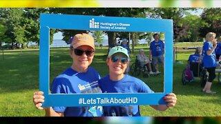 Special event raising awareness for Huntington's Disease