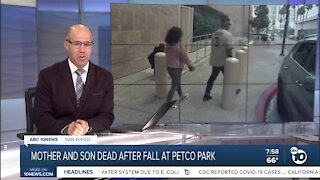 Mother and Son dead after fall at Petco Park