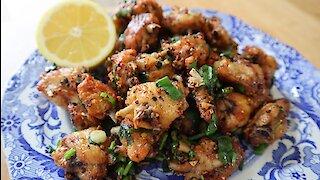 How to make Thai salted chili chicken