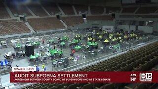 Board of Supervisors, AZ State Senate reach settlement on the election audit subpoena