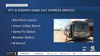 Game Day Express service