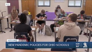Ohio Dept. of Health changing school quarantine guidelines