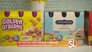 Lauren Manaker has nutrition tips for busy families from Carnation Breakfast Essentials®