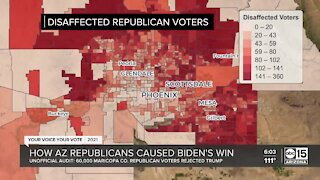 Disaffected Republicans handed Arizona to Joe Biden