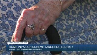 Home invasion scheme targeting elderly in Troy