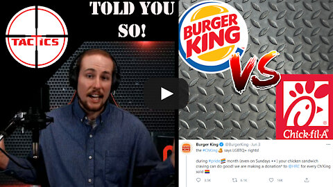 Burger King Takes a Jab at Chick-fil-A Over Gay Pride Month