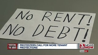 Protesters call for more tenant protections