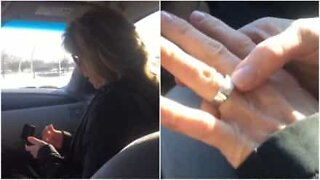 30 years later she's surprised with a wedding ring