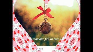 Never seen someone fall in love with me [Quotes and Poems]