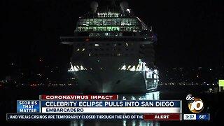 Celebrity Eclipse arrives in San Diego