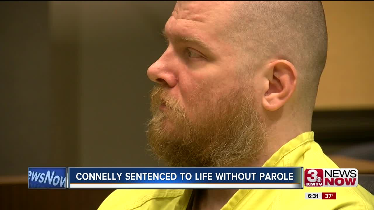 Connelly sentenced to life without parole