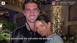 Maura Higgins and Chris Taylor have split up