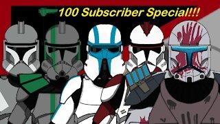100 Clone Trooper Drawings