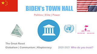 Town Hall | Joe Biden | 1984=2021