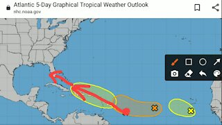 8/7/21 Tropical Update
