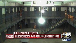 Arizona Department of Corrections Director Charles Ryan announces retirement