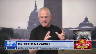 Navarro: 'No Question' the Virus Came from Wuhan Lab and the Election Was Stolen