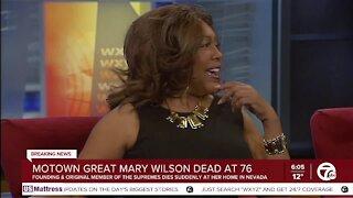 Motown legend Mary Wilson dies at 76