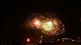 Werner Park fireworks