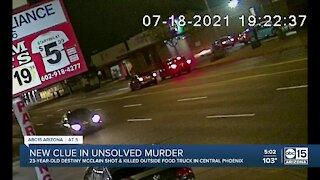 New clue in unsolved murder in Phoenix