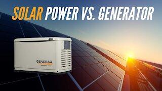 Solar Power Vs Generator