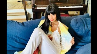 Jameela Jamil embraced wearing no bra to the Emmy Awards