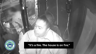 MCTS driver saves residents from burning building