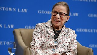 Ruth Bader Ginsburg Lying In State At U.S. Capitol Friday