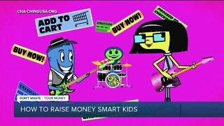 How to raise money smart kids