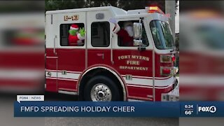 FMFD spreads holiday cheer