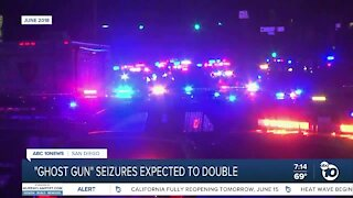 Ghost gun seizures increase